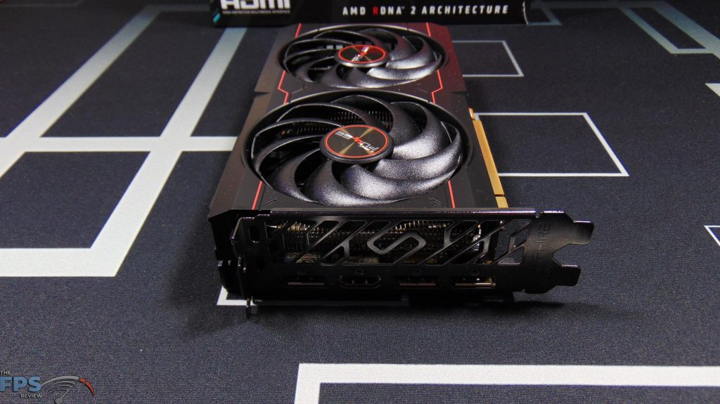 SAPPHIRE PULSE Radeon RX 6600 GAMING Video Card Front View