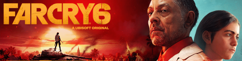 Far Cry 6 Logo Banner